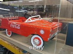 Pédale Rare Collector Coca-cola Voiture, Camion Coca-cola! Peut-être L'un D'une Sorte