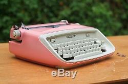 Peinture Personnalisée De Travail Manuel Royal Safari Typewriter Rose Unique En Son Genre