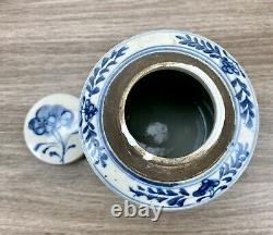 Pot De Gingembre Peint À La Main En Porcelaine Bleue Et Blanche Par Oriental Danny One Of A Kind