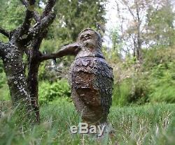 Pot Laid Oiseaux Du Tabac. L'un D'une Sorte Cuite À Haute Température Stoneware Art Par Berdej