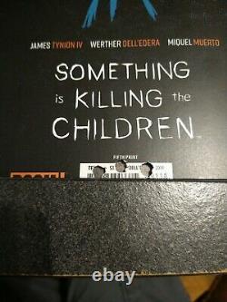 Quelque Chose Est Tuer Les Enfants #1 Misprint Vhtf Regarder Des Photos, L'un D'un Genre