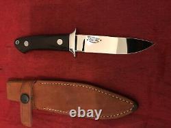R. W. Loveless Knife Maker 40ème. Annonce. Sémi Skinner Knife-one-of-a-kind. Knife De Reserve