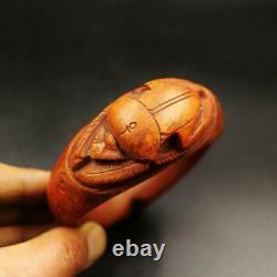 Rare Ancienne Pierre Scarab Bracelet Dentelle Ancien Égyptien. L'un D'eux, C'est-à-dire L'un D'eux.