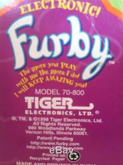 Rare Box Error Box And Eyes Closed Furby L'unique Exemplaire Sur Ebay