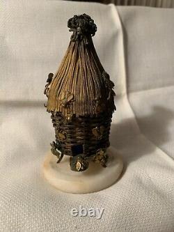 Rare Cercueil Victorien Parfum Parfum Bouteille France One Of A Kind