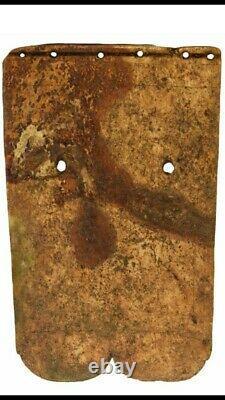 Rare Museum Worthy 3 1/2 Bone Gorget Davis Coa One Of A Kind Artefact Historique
