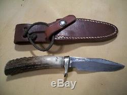Rare One Of A Kind Randall Damas Modèle 8 Couteau, Déjeuner Couteau De Boîte! , Monnaie, 1980