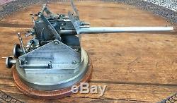 Rare Réplique D'artillerie Militaire De L'époque De La Seconde Guerre Mondiale, Pièce Unique À Collectionner