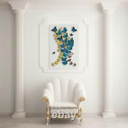 Real 3-d Art Encadrée Papillon Acrylique Unique Cadeau Un D'une Sorte