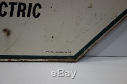 Reddy Kilowatt Vintage Original Réel Authentique Du Type Électrique Co. Sign
