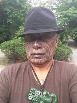 Requin Te Kaha Nouvelle-zélande Néphrite Jade Maori Pounamu Rei Niho