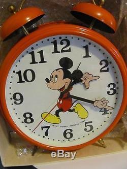 Réveil Mickey Mouse De 11 Pouces Rare