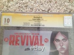 Revival 1 Cgc 10 Ss Film Unique En Son Genre À Venir Plans De Paiements Hebdomadaires