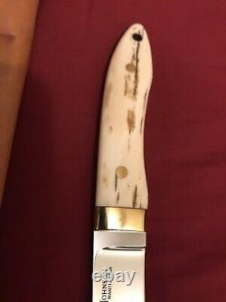 S. R. Johnson Couteau Personnalisé-18. K Gold-walrus- Partenaire Unique En Son Genre-sans Amour