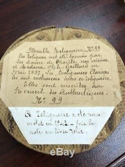 Saint-pierre-et-andré Unique En Son Genre, Reliquaire Français, 1897