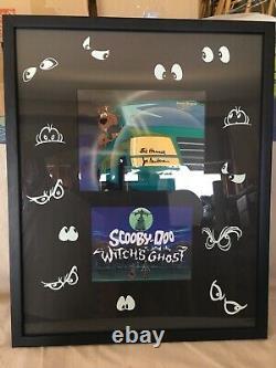Scooby Doo L'un D'un Kind Animation Signée Cel Le Fantôme Des Sorcières