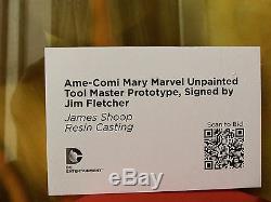 Signé One Of A Kind Amé-comi Mary Marvel Maître Prototype Jim Fletcher Rare1