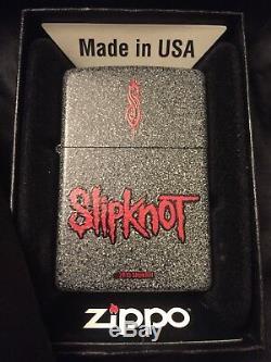 Slipknot Zippo2015extrêmement Rare, Un Granit En Édition Limitée Unique