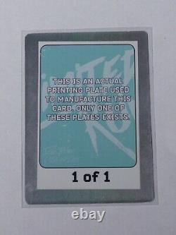 Spelunky Limited Run Games 410 Trading Card Printing Plate Cyan Un D'un Genre
