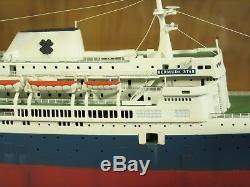 Ss Bermuda Star Conversion Personnalisée Du Kit Revell Sur Mesure 18213