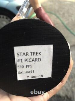 Star Trek Picard Bust Figure Eaglemoss Never Released Very Rare One Of Kind