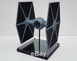 Star Wars Imperial Tie Fighter Incredible Modèle À L'échelle 138 Unique En Son Genre