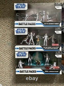 Star Wars L'héritage Collection Pack De Bataille Lot 2008 One Of A Kind Auctions Lk