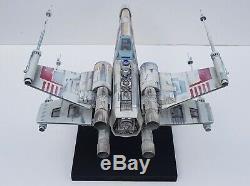 Star Wars X-wing Fighter Rouge 5 Incroyable Modèle À L'échelle 138 Unique En Son Genre