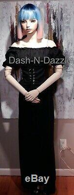 Taille De La Vie Bjd Doll Yeux En Verre Mannequin One Of A Kind