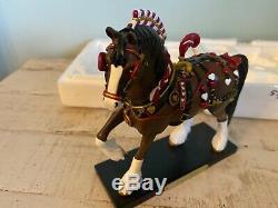 Trail Du Roi Painted Ponies Des Coeurs Un D'une Sorte Sample Rare