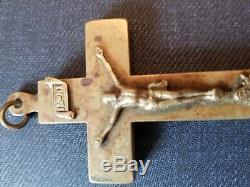 Très Vieux, L'un D'une Sorte, Crucifix Religieux Antique