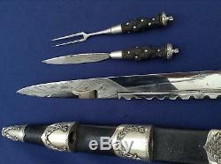 Un Couteau Hors Du Commun Des Îles Écossaises Dirk Dagger, Un Couteau Écossais