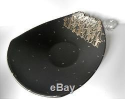 Un D'une Sorte Emilia Los Castillo Penguins Assiette Grand Bol Sterling 18 X 15