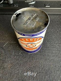 Un De Ces Types Eagle Oil Bidon Metal Quart