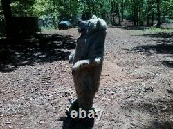 Une Forme D'une Forme Unique En Fausse Taxiderme Réaliste Femelle Grizzly Ours! Tout Neuf