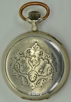 Une Montre De Récompense Décernée Par Un Officier Militaire Russe De La Première Guerre Mondiale. Nicolas II