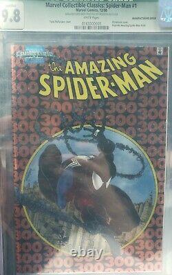 Unique En Son Genre Amazing Spiderman 300 Chrome 9.8 Marvel Collectible Classics 1