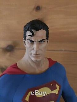 Unique En Son Genre! Format Superman Sideshow Premium Figure 1/4 Statue Original DC