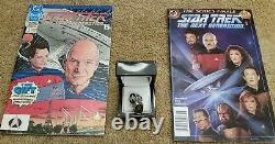 Unique En Son Genre. Star Trek Next Generation Custom Rings & First & Last DC Comic