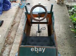 Unique Fait Main D'un Genre1920 Vieille Voiture De Pédale Fiat Roadstar $7750 O. N. O.