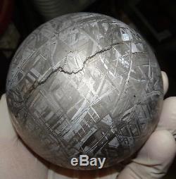 Unique Sphère Gravée À L'eau-forte De 2770 Gm Muonionalusta