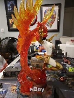 Unique Statue Blanche De Phoenix X-men Haut De Gamme, Échelle 1/4, XM Studios Marvel