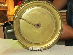 Unique Vintage, Un De Type, L'uranium En Verre Lampe Électrique, Très Grand, Travail