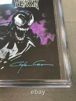 Venom The End 1 Cgc Ss 9.8 Custom One Of A Kind Painted Cover By Clayton Crain