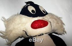 Vintage 34 Looney Tunes Sylvester Le Chat En Peluche Un Of A Kind