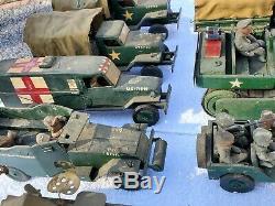 Vintage One Of A Kind Seconde Guerre Mondiale 1940 Camion Jeep Bois Militaire Des États-unis Réservoir Motor Piscine Lot