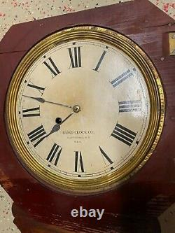 Vintage One-of-a-kind Coca Cola Baird Clock The Ideal Brain Tonic Mint