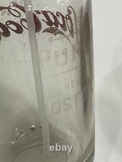 Vintage Pre Années 1930 Coca Cola Seltzer Bouteille Sur Pureoxia Boston Mass One Of A Kind