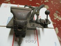 Vintage Stanley Desk Pneumatic Air Vise Handmade One Of A Kind