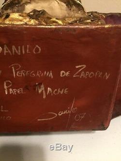 Virgen Peregrina De Zapopan Papel Mache De Danilo 2007 28 Unique